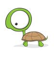 Cartoon turtle vector