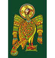 Eagle heraldic vector