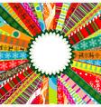 Scrapbook christmas patterns for design vector