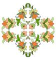 Ottoman motifs design series eighty seven vector