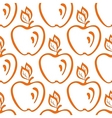Background apples vector
