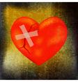 Mended heart vector