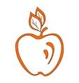 Orange apple vector