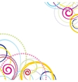 Abstract colorful celebration background vector
