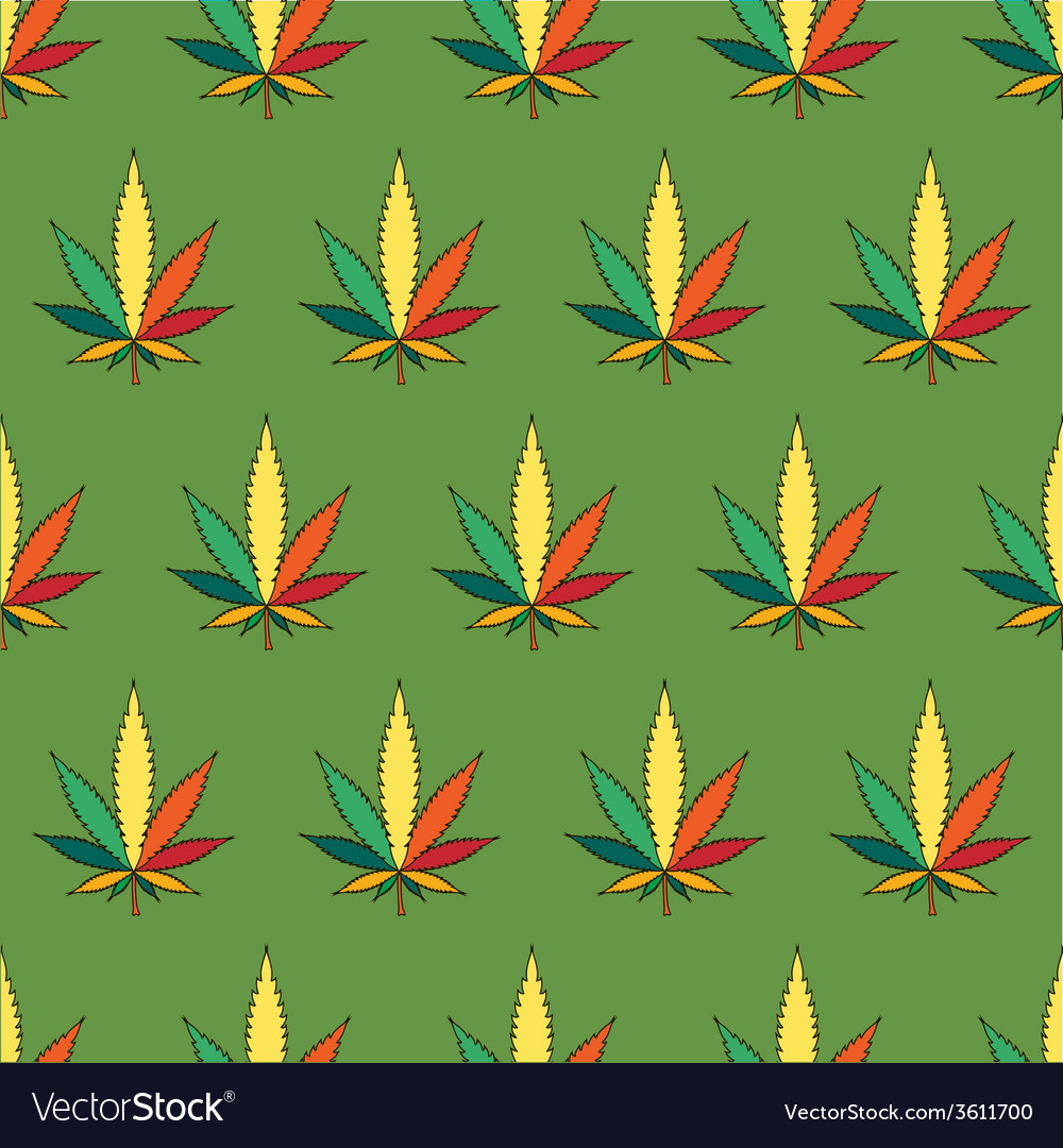 Cannabis leafs vector | Price: 1 Credit (USD $1)