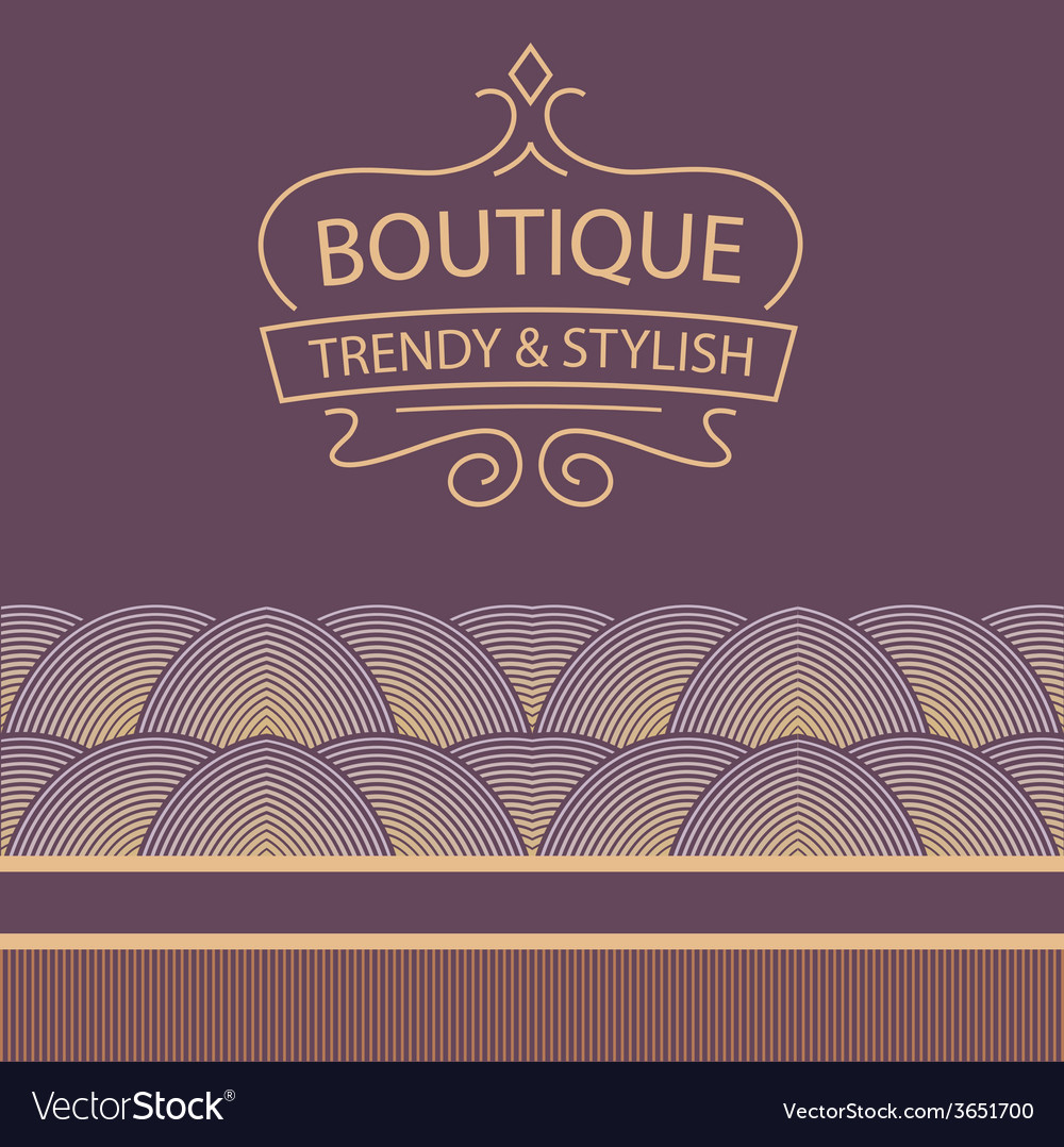 Logo for boutique clothing accessories jewelry and vector | Price: 1 Credit (USD $1)