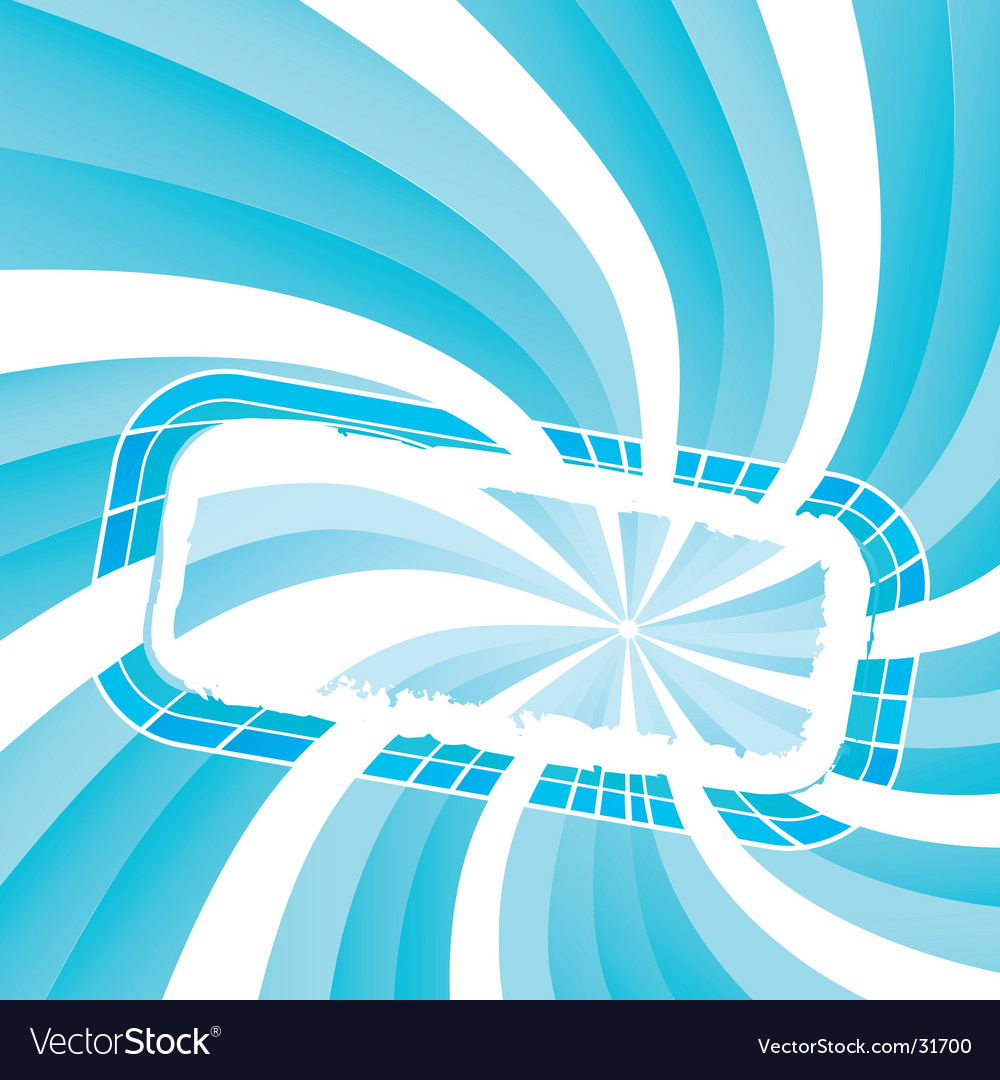 Spiral light frame vector | Price: 1 Credit (USD $1)