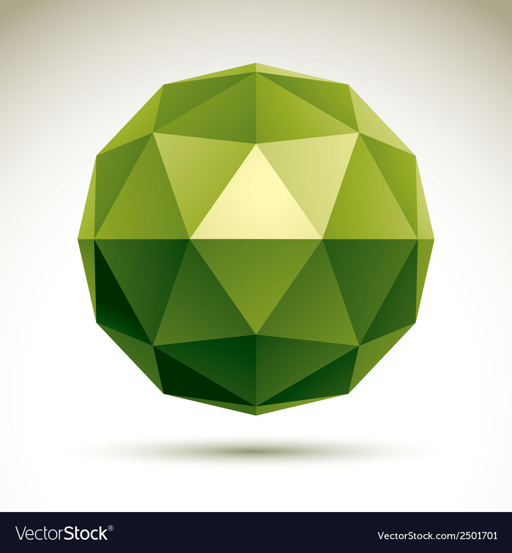 Abstract 3d object design element template for vector | Price: 1 Credit (USD $1)
