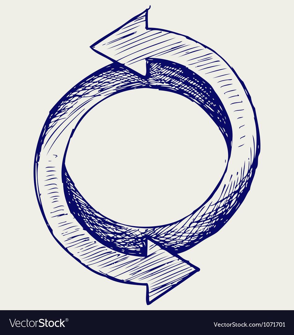 Arrows circle vector   Price: 1 Credit (USD $1)