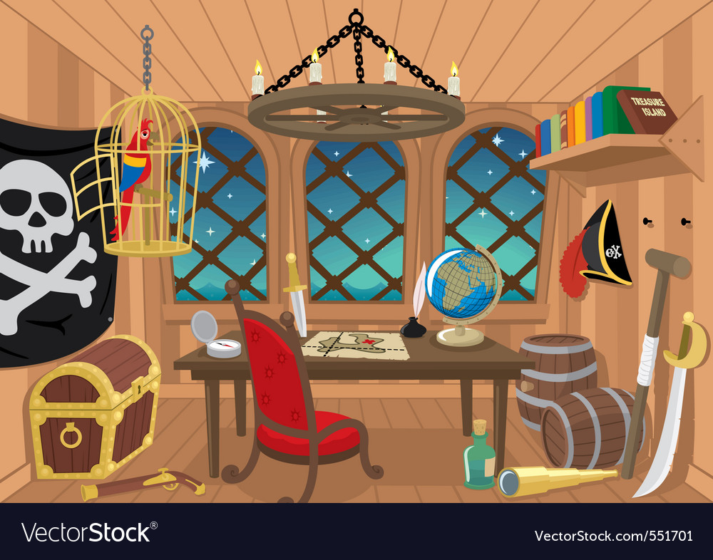 Captain cabin vector | Price: 1 Credit (USD $1)