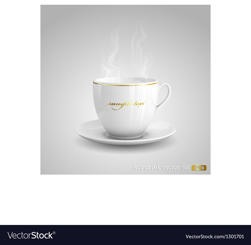 Hot drink vector | Price: 3 Credit (USD $3)