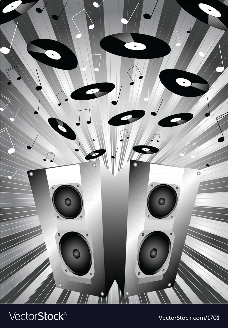 Music blast vector | Price: 1 Credit (USD $1)