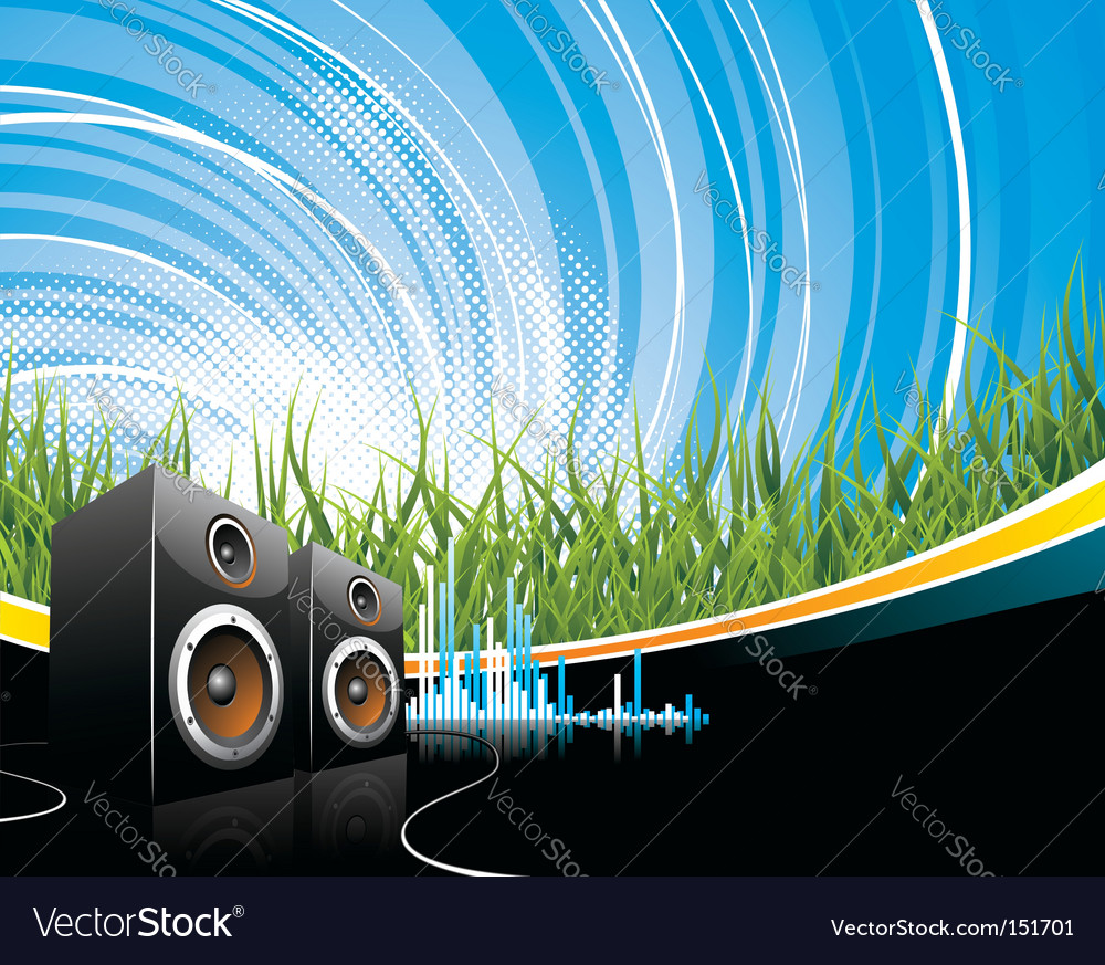 Music illustration vector | Price: 1 Credit (USD $1)