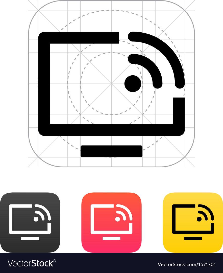 Remote control icon vector | Price: 1 Credit (USD $1)