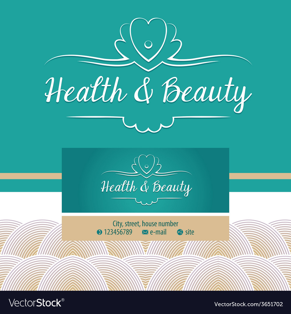 Logo with shell and pearl gold and turquoise vector | Price: 1 Credit (USD $1)