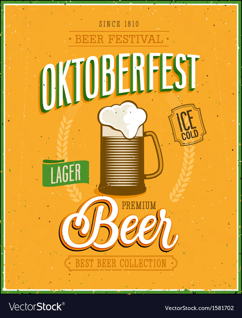 Octoberfest vector | Price: 1 Credit (USD $1)
