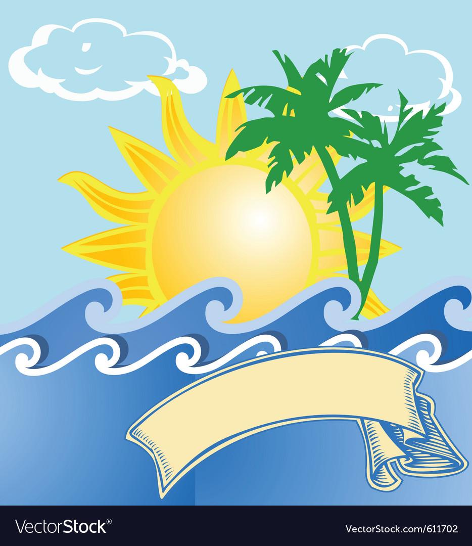 Summer vacation vector   Price: 1 Credit (USD $1)