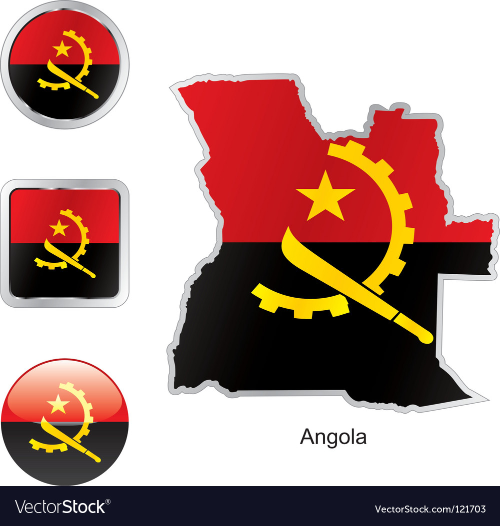 Angola vector | Price: 1 Credit (USD $1)