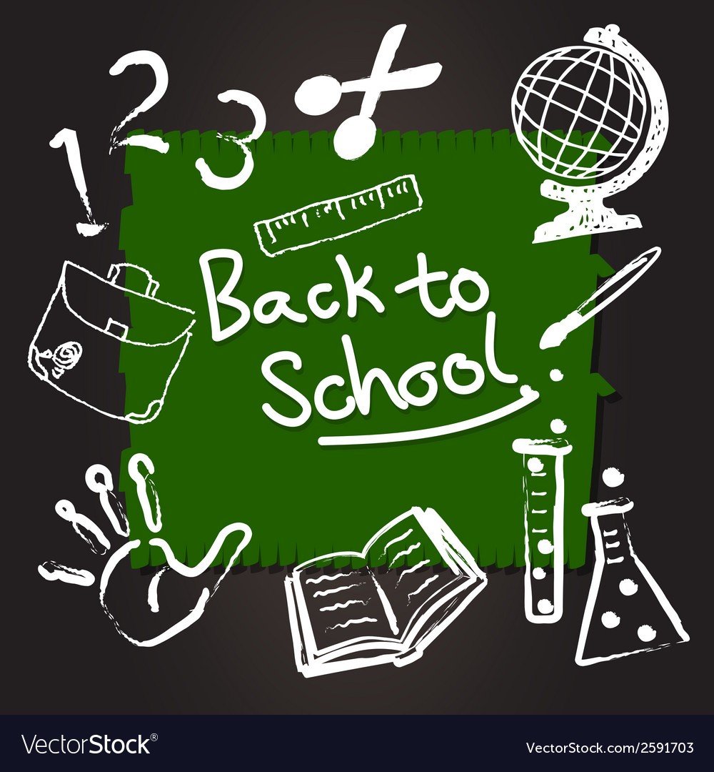 Education and back to school vector | Price: 1 Credit (USD $1)