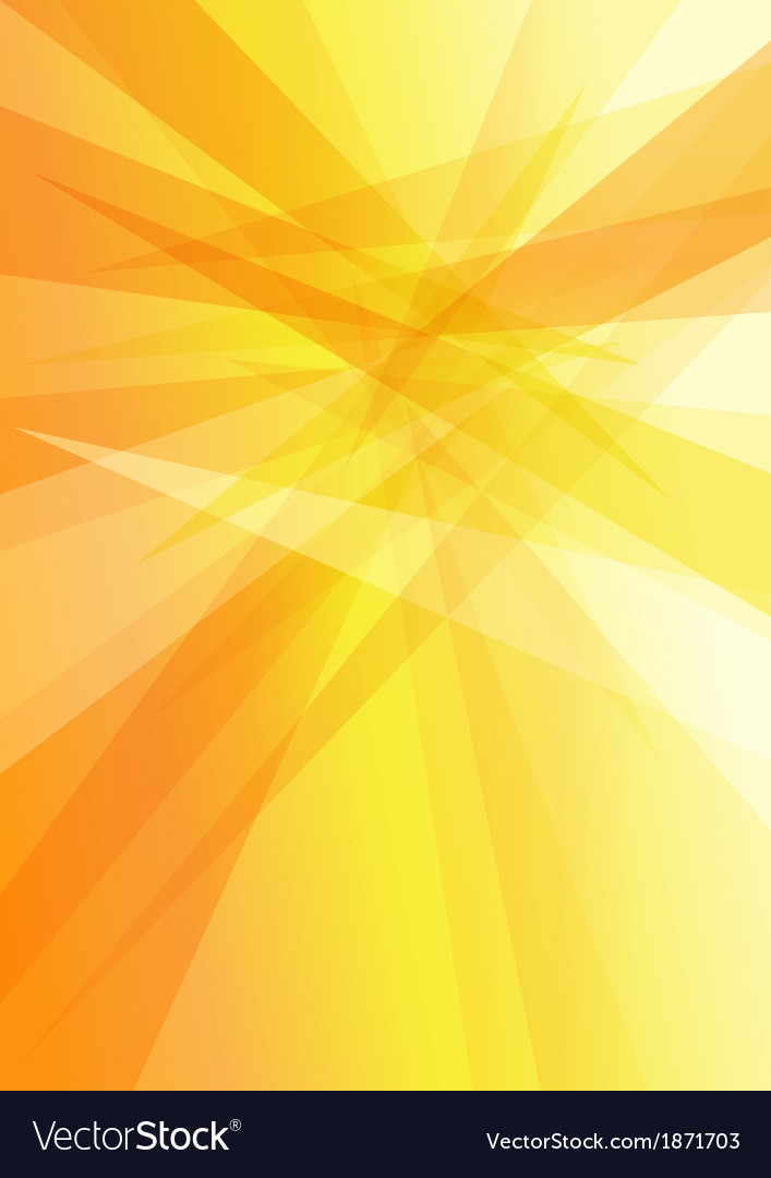 Orange yellow background vector
