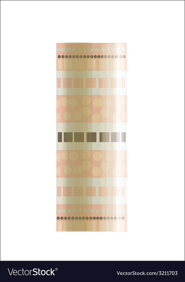 The pink cylinder vector | Price: 1 Credit (USD $1)