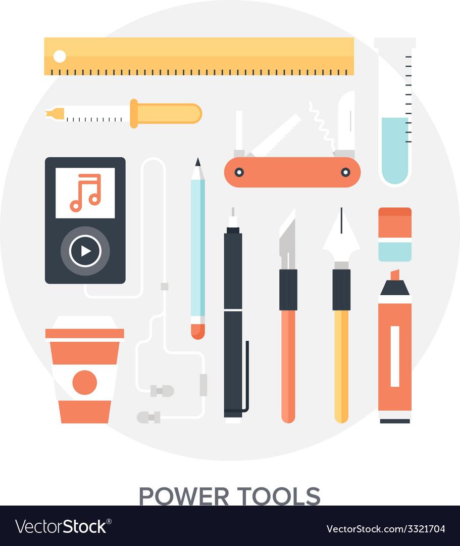 Design tools vector | Price: 1 Credit (USD $1)
