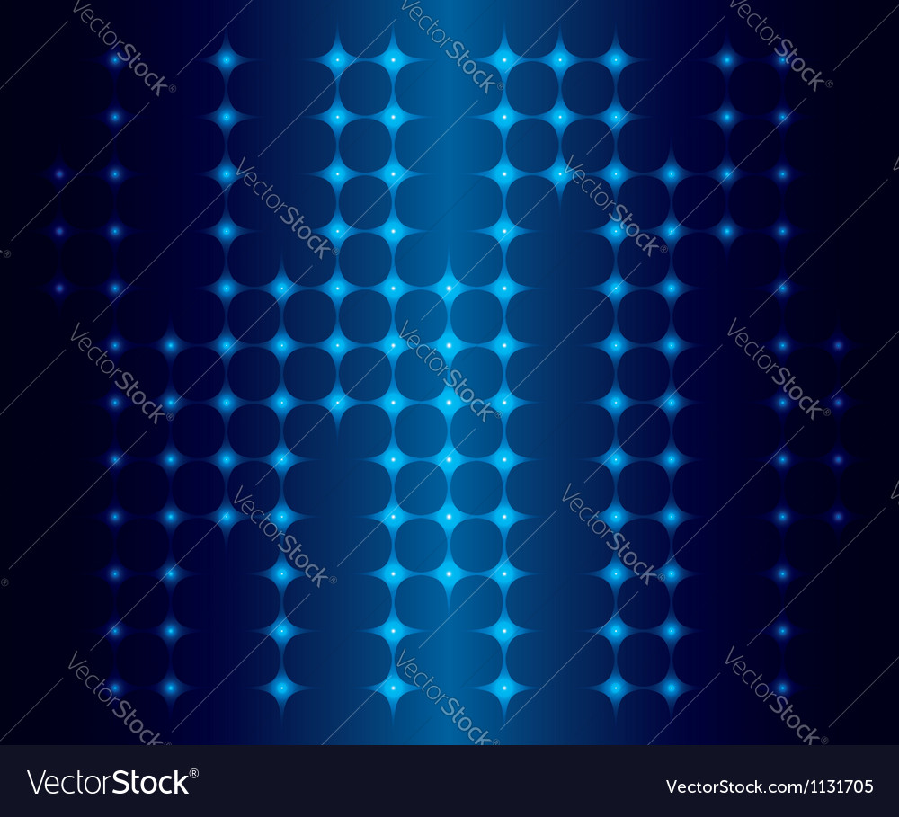 Abstract background with blue neon lights vector | Price: 1 Credit (USD $1)