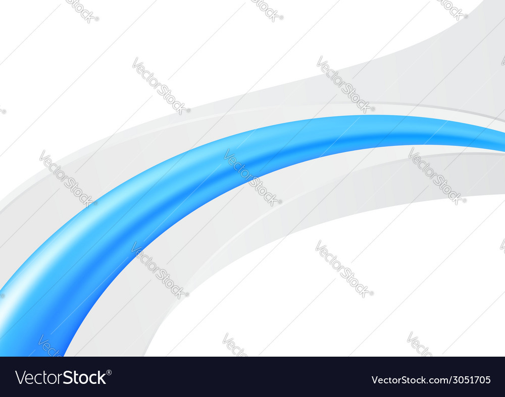 Blue abstract line - folder card template vector | Price: 1 Credit (USD $1)