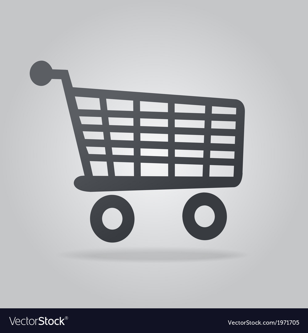 Icon shopping vector | Price: 1 Credit (USD $1)