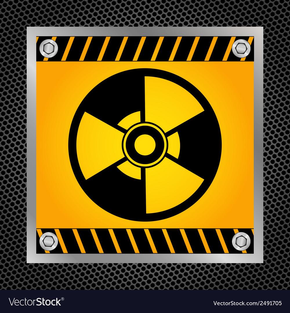 Sign of radioactivity vector | Price: 1 Credit (USD $1)