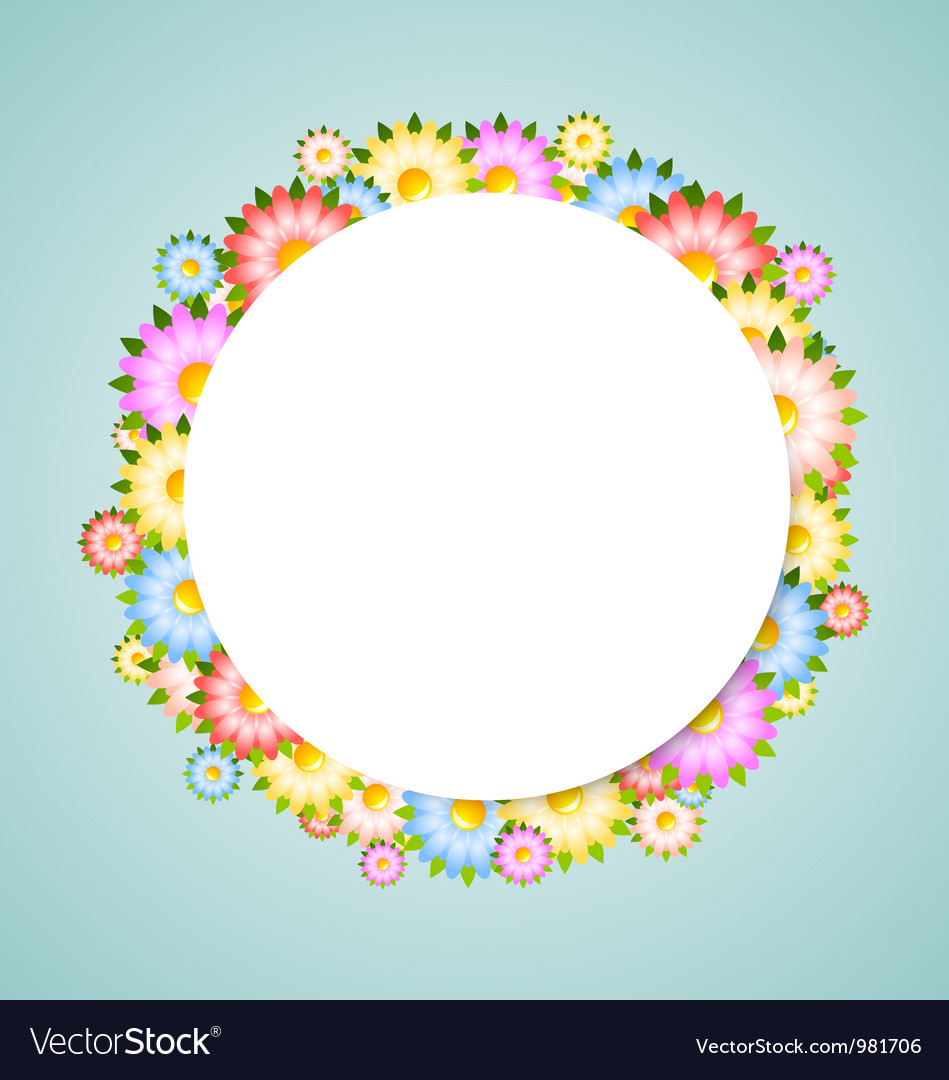 Flower bubble vector | Price: 1 Credit (USD $1)