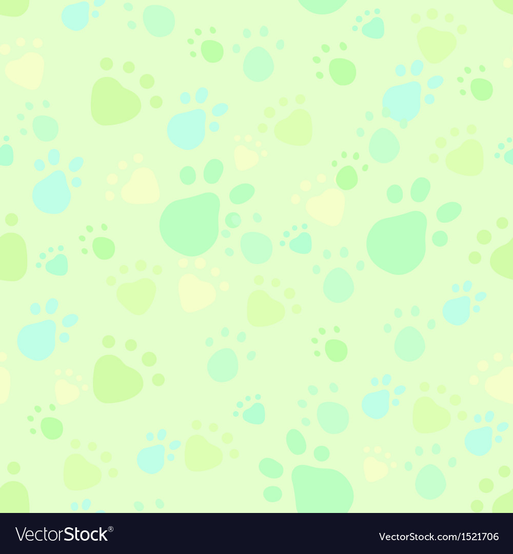 Pet legs imprint seamless vector | Price: 1 Credit (USD $1)