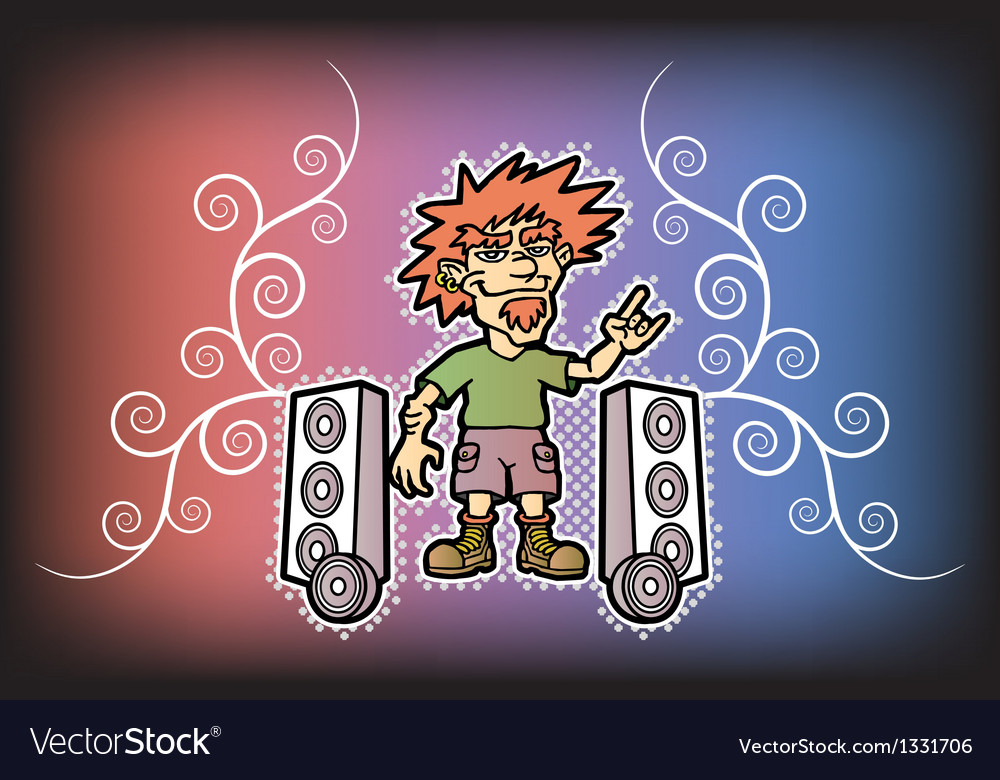 Rocker vector | Price: 1 Credit (USD $1)