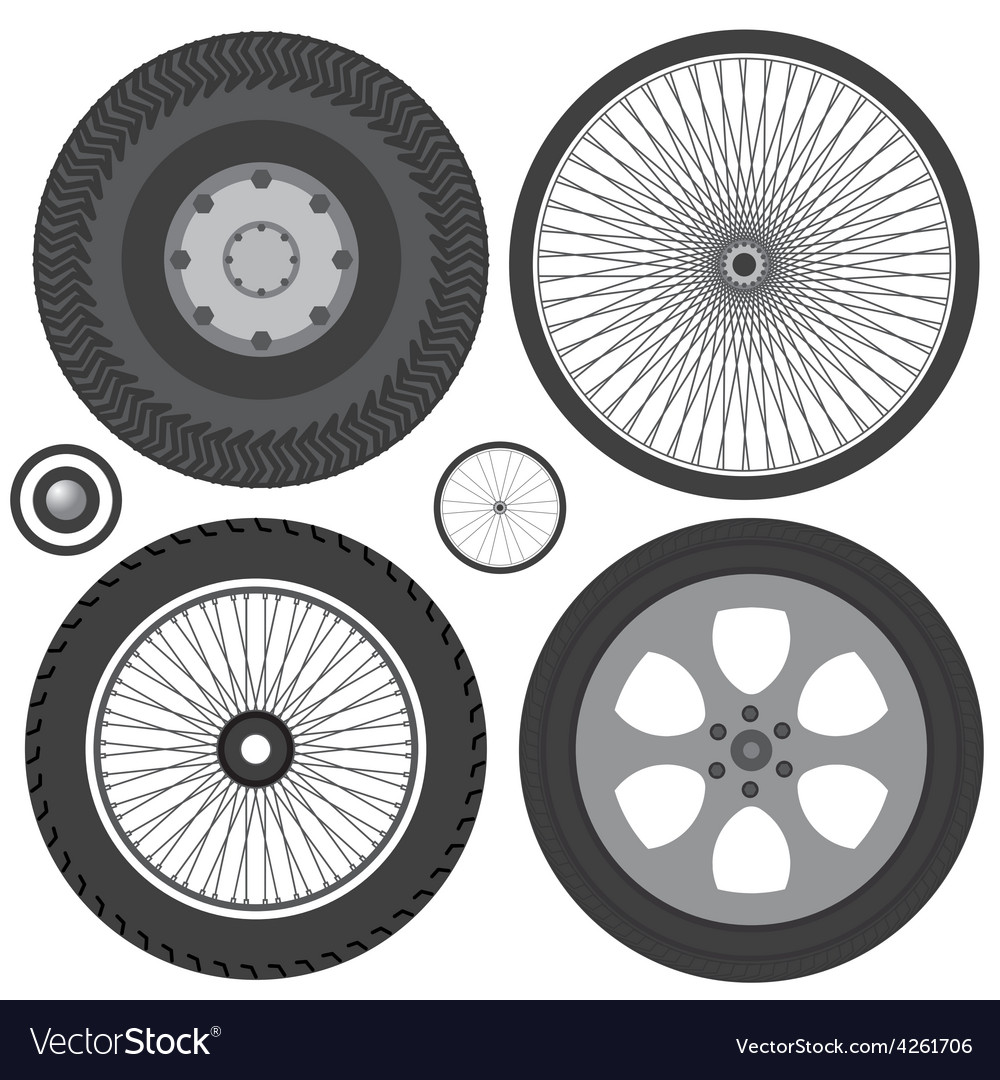 Wheel vector | Price: 1 Credit (USD $1)