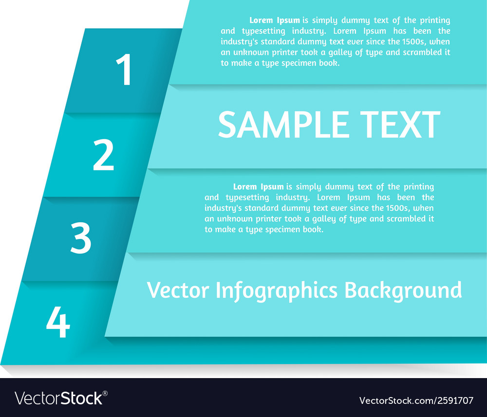 Abstract infographics background vector | Price: 1 Credit (USD $1)
