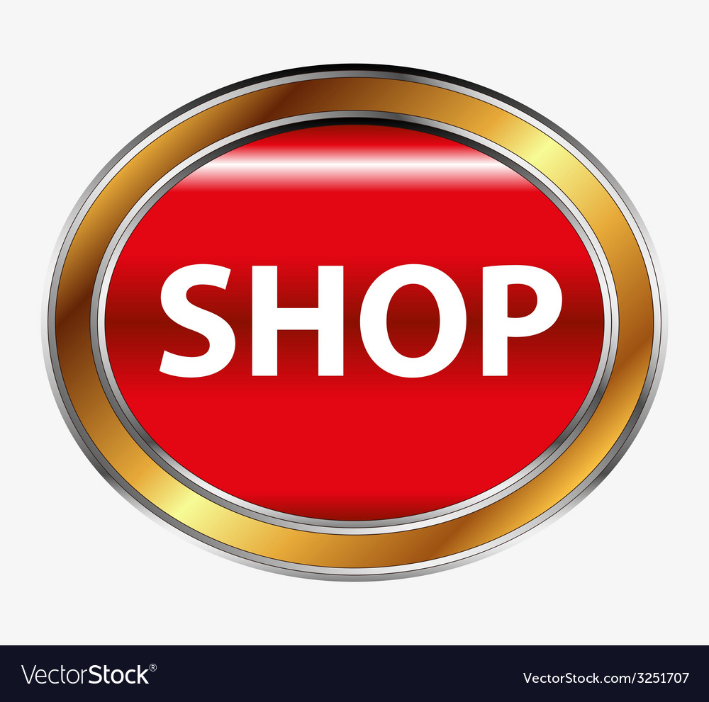 Shop button vector | Price: 1 Credit (USD $1)