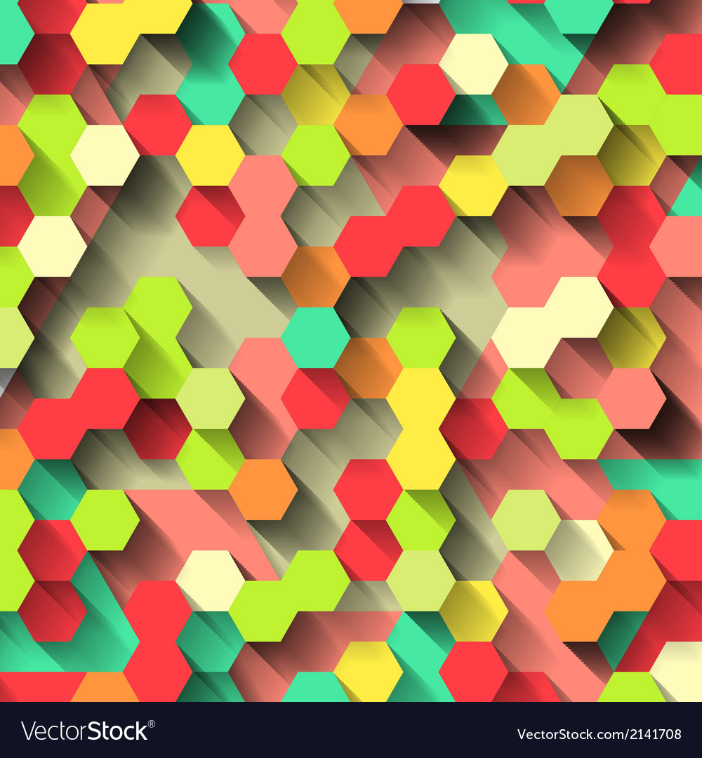 Bright colorful technological pattern vector | Price: 1 Credit (USD $1)