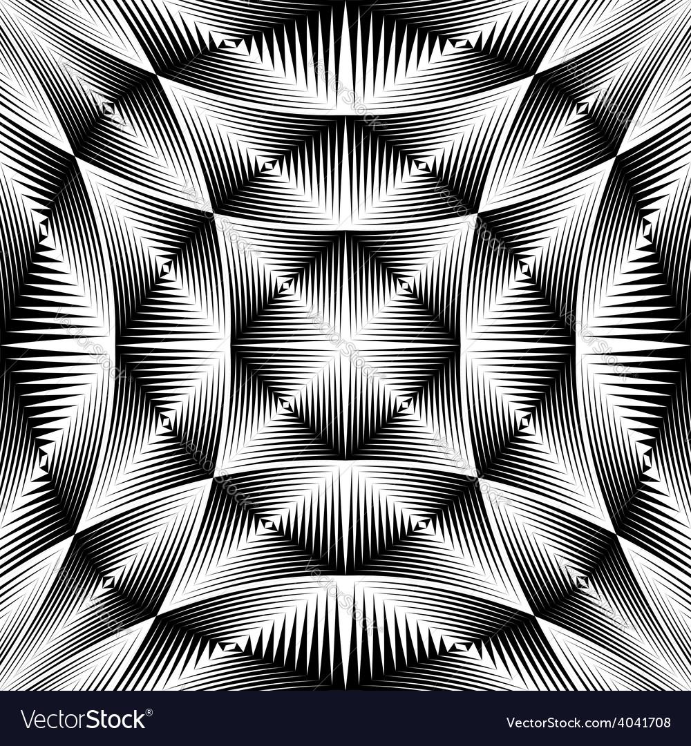 Design warped trellised pattern vector | Price: 1 Credit (USD $1)