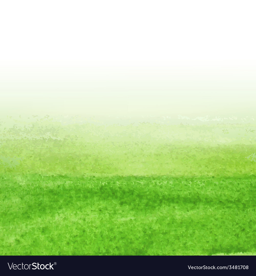 Green watercolor background vector | Price: 1 Credit (USD $1)