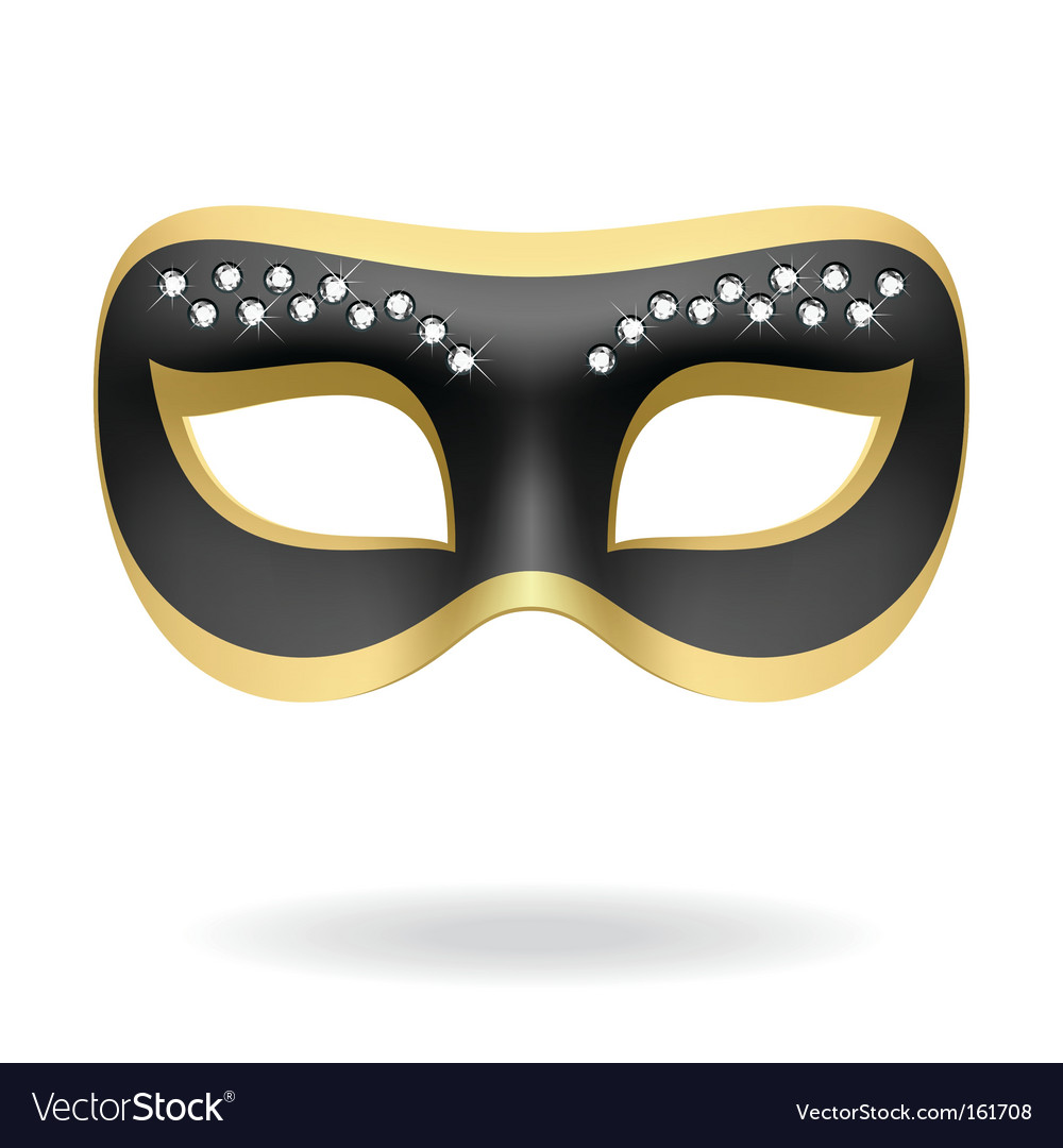 Masquerade mask vector | Price: 1 Credit (USD $1)