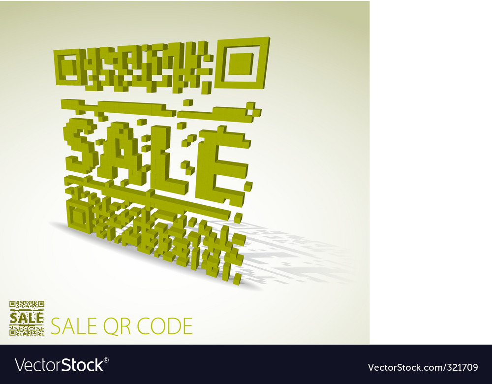 Sale barcode vector | Price: 1 Credit (USD $1)