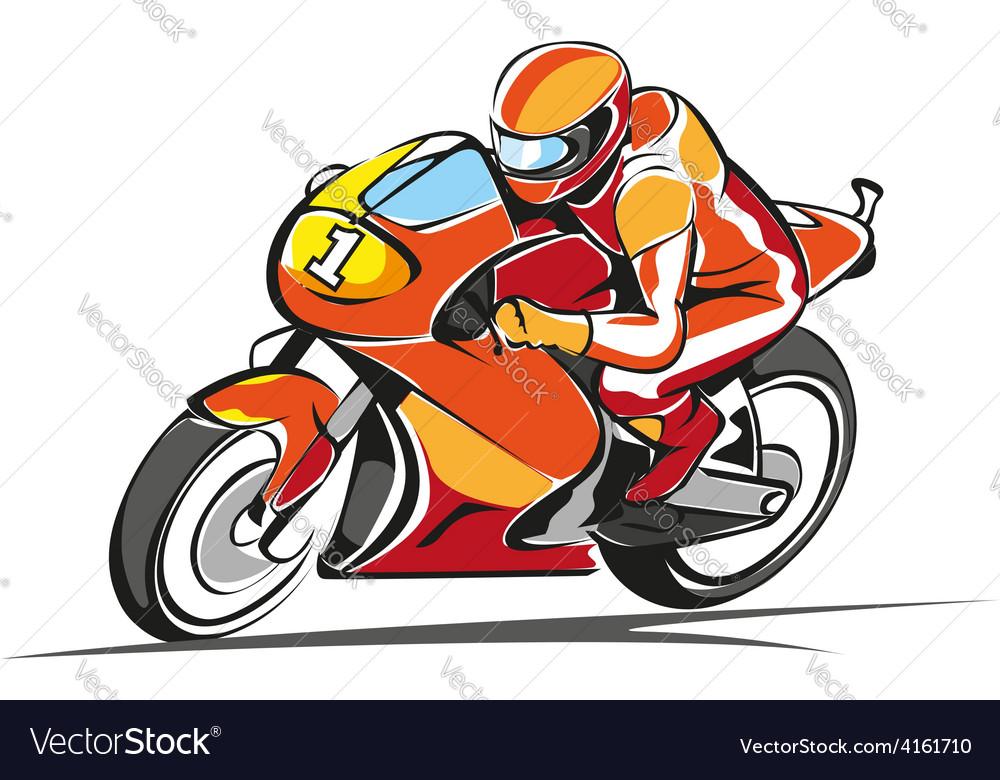 Motorcycle vector | Price: 1 Credit (USD $1)