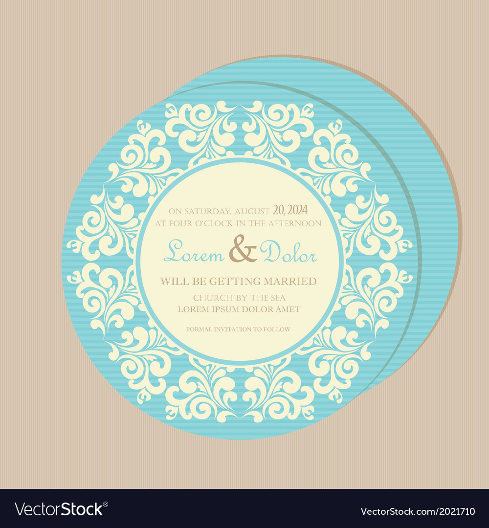Round card blue vector | Price: 1 Credit (USD $1)