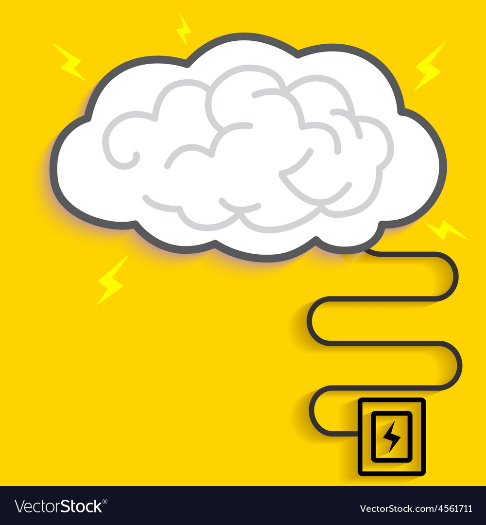 Brain charge vector | Price: 1 Credit (USD $1)