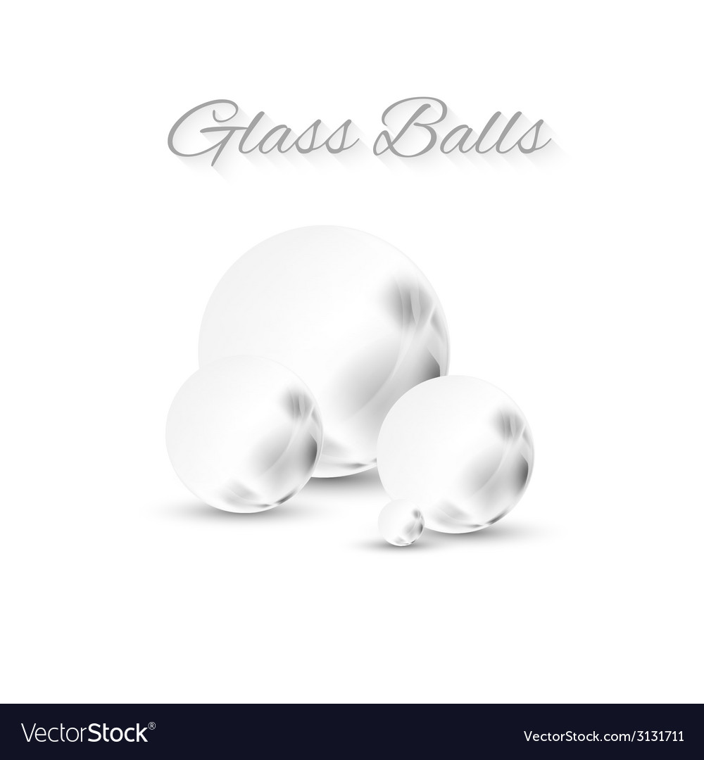 Grey glass sphere vector   Price: 1 Credit (USD $1)