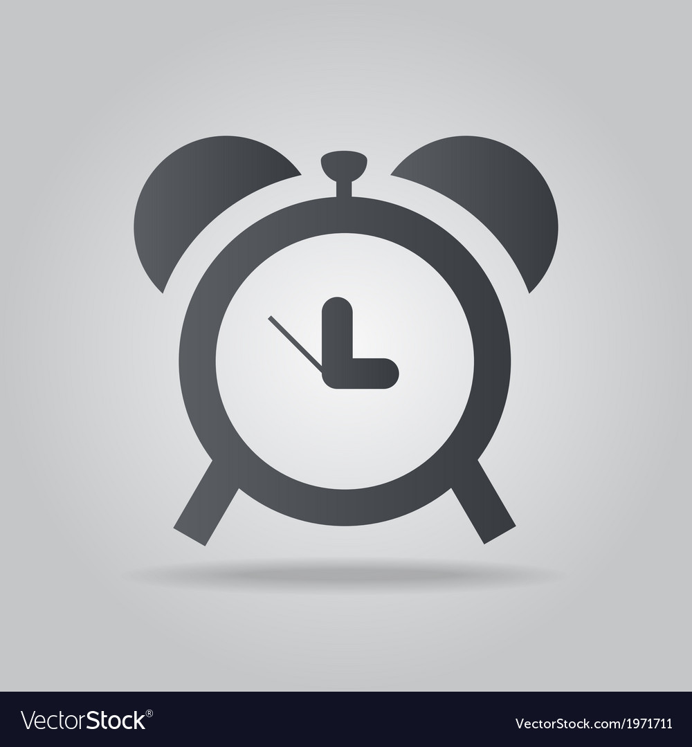 Icon time vector | Price: 1 Credit (USD $1)