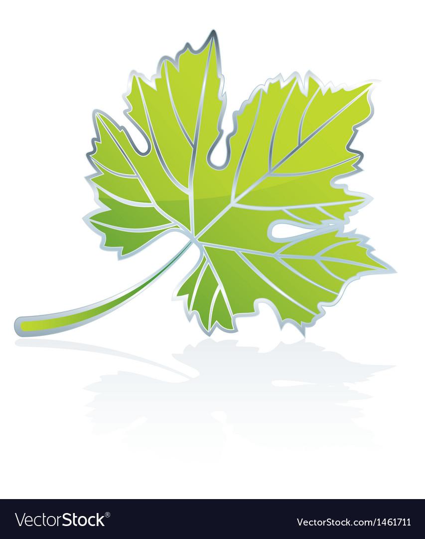 Icon vine leave vector   Price: 1 Credit (USD $1)