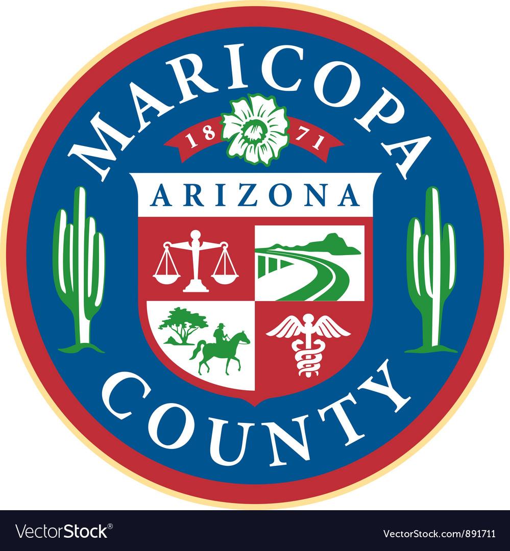 Maricopa county seal vector | Price: 1 Credit (USD $1)