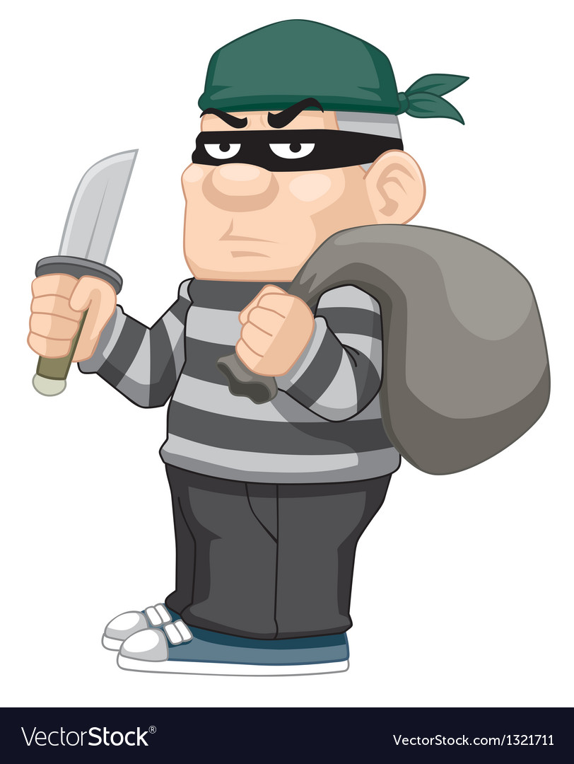 Thief vector | Price: 1 Credit (USD $1)