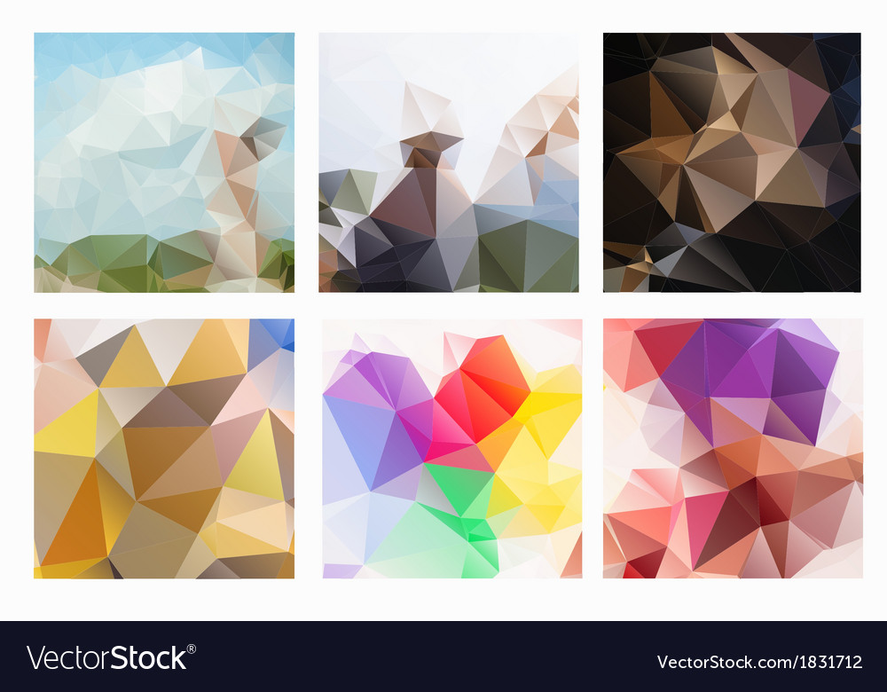 Abstract triangles vector | Price: 1 Credit (USD $1)